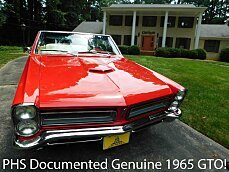 1965 Pontiac GTO for sale 101023978