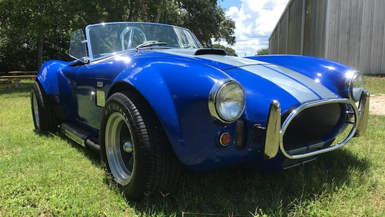 1966 ac cobra replica for sale near boerne texas 78006 classics on autotrader. Black Bedroom Furniture Sets. Home Design Ideas