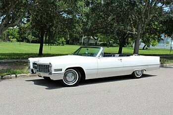 1966 Cadillac De Ville for sale 100784967
