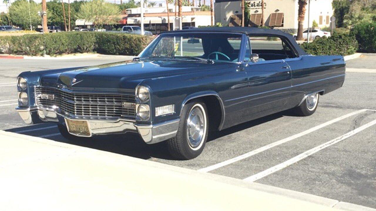 1966 Cadillac De Ville Coupe for sale near Los Angeles, California ...