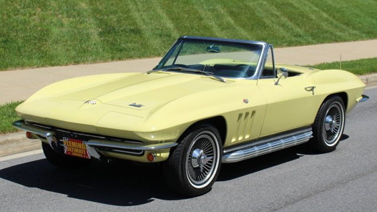 1966 Chevrolet Corvette for sale near Rockville, Maryland 28050 ...