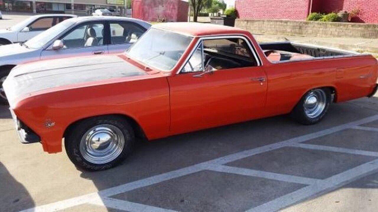 1966 Chevrolet El Camino For Sale Near Cadillac Michigan 49601 Chevy 100961979