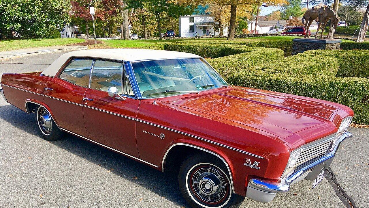 1966 Chevrolet Impala Sedan For Sale Near Ashburn Virginia 20147 Chevy Air Conditioning 100923881