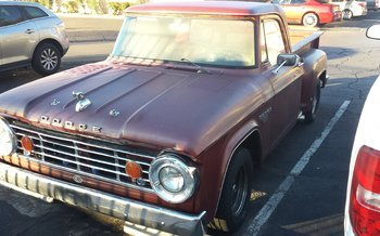 1966 Dodge D/W Truck 2WD Regular Cab D-100 for sale 101017386