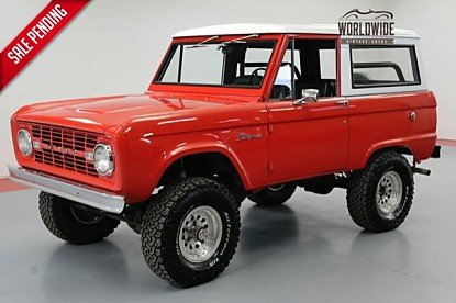 1966 Ford Bronco for sale 100989054