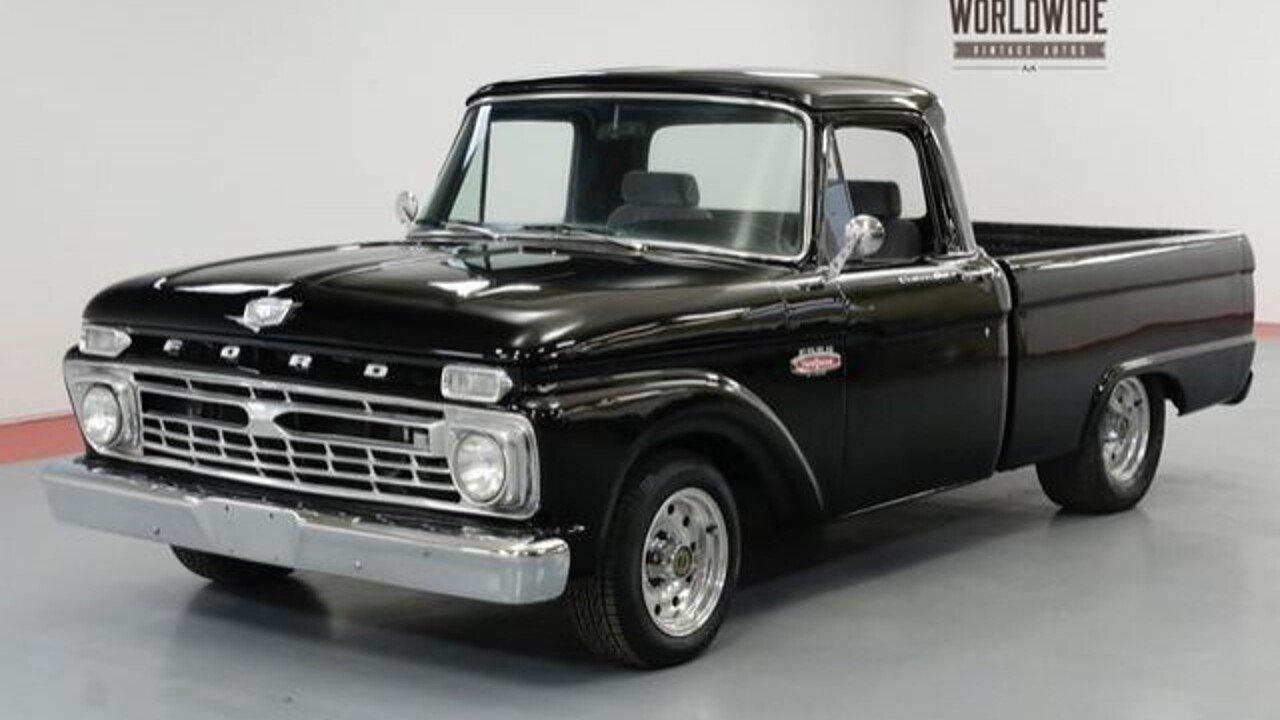 1966 Ford F100 For Sale Near Denver Colorado 80216 Classics On 1954 4x4 100994998