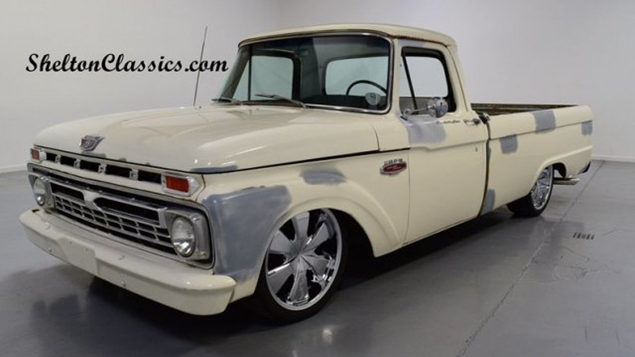 1966 Ford F250 Classics For Sale On Autotrader 1964 Camper Special 100929633