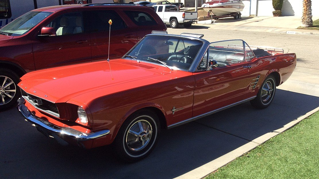 1966 Ford Mustang Convertible for sale 101011649