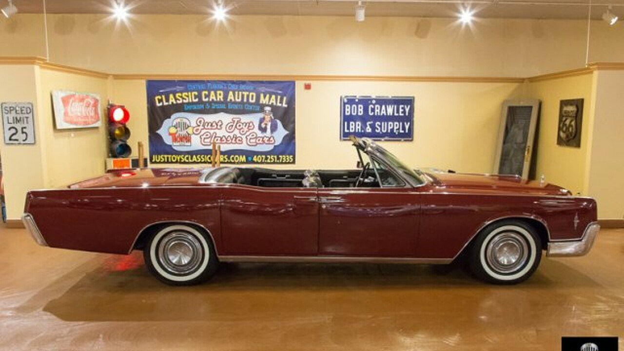 1966 Lincoln Continental for sale near Orlando, Florida 32837 ...