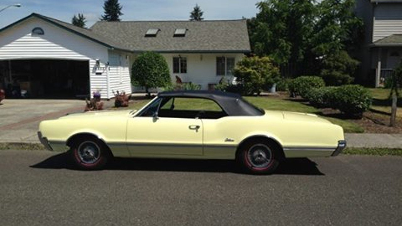 1966 Oldsmobile Cutlass for sale 100817459