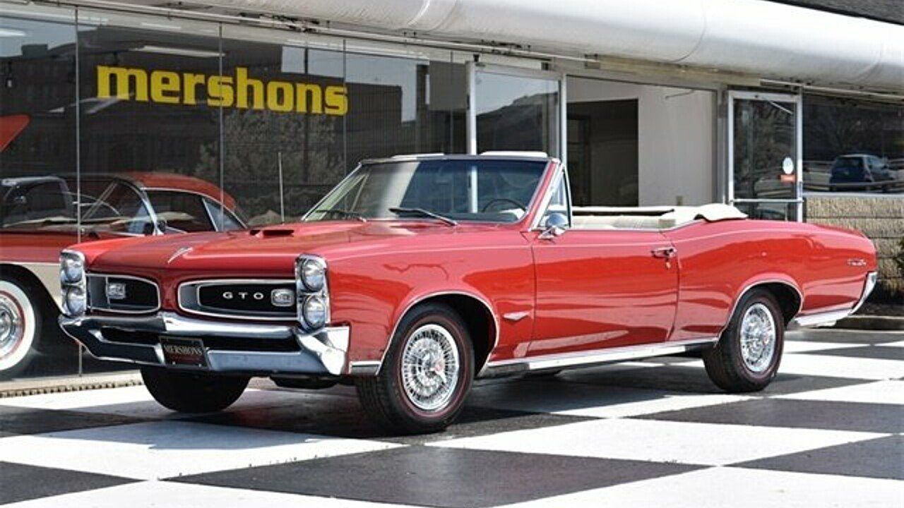 1966 Pontiac GTO for sale 100982310
