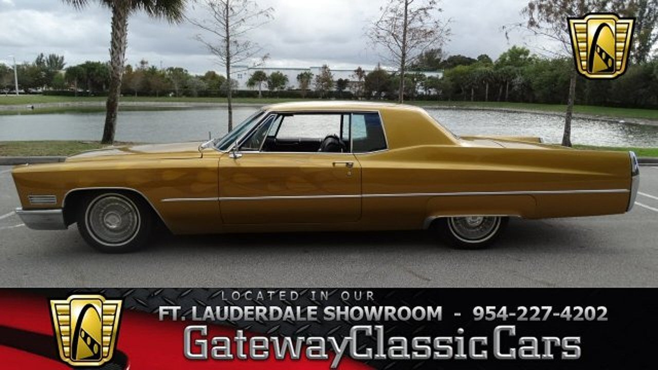 1967 Cadillac De Ville for sale 100842024