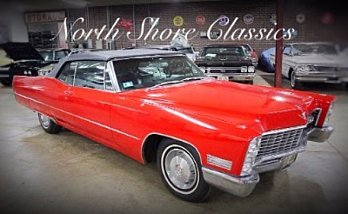1967 Cadillac De Ville for sale 100931554