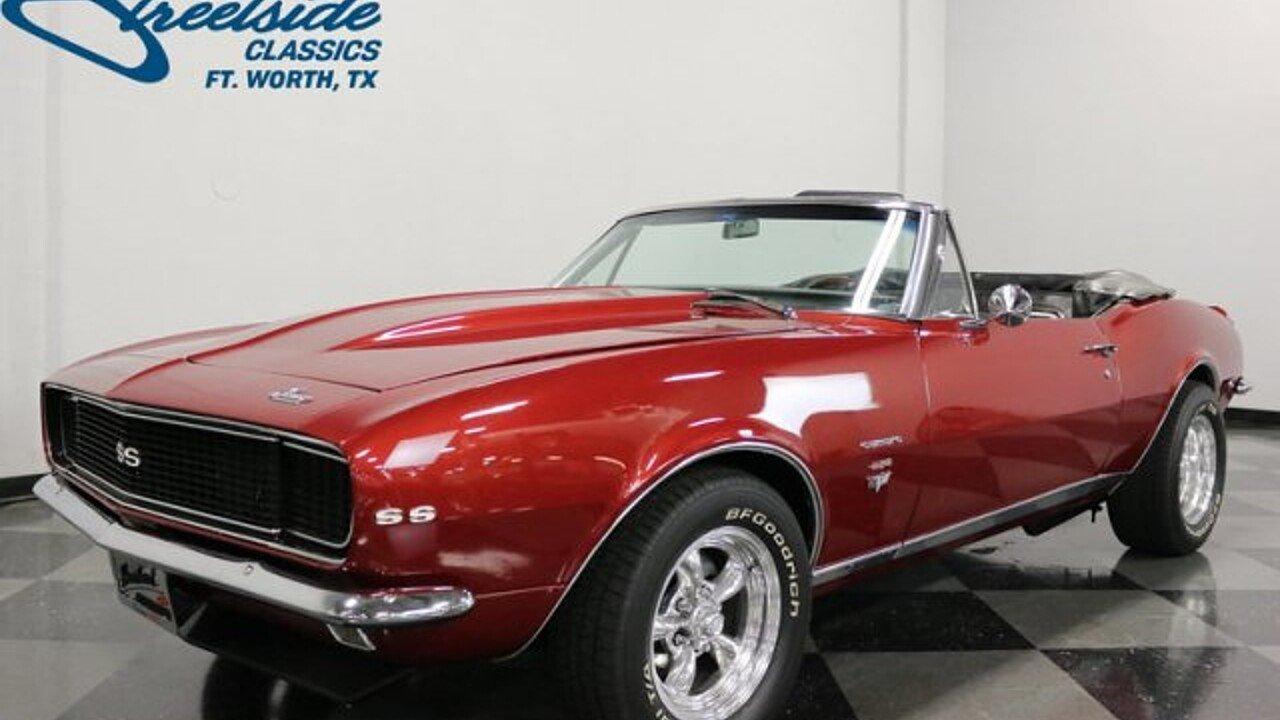 1967 Chevrolet Camaro for sale near Fort Worth, Texas 76137 ...