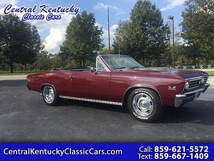 1967 Chevrolet Chevelle SS for sale 101016474