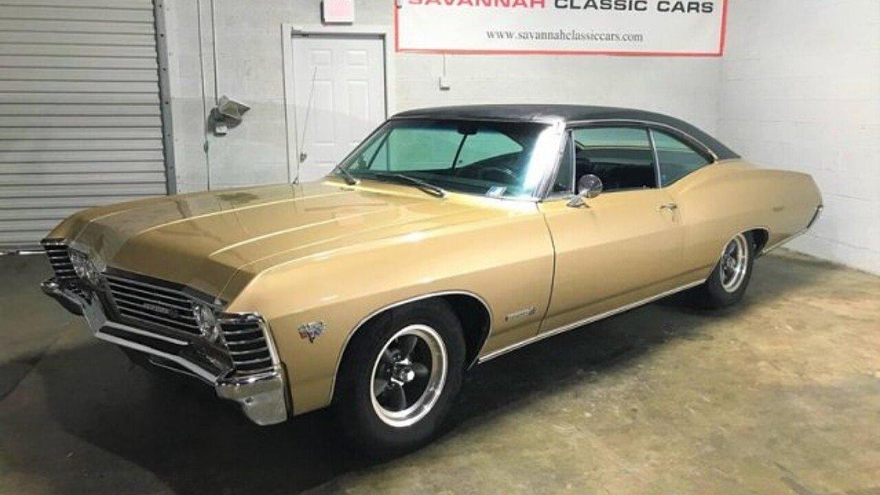 1967 Chevrolet Impala for sale near Savannah, Georgia 31415 ...
