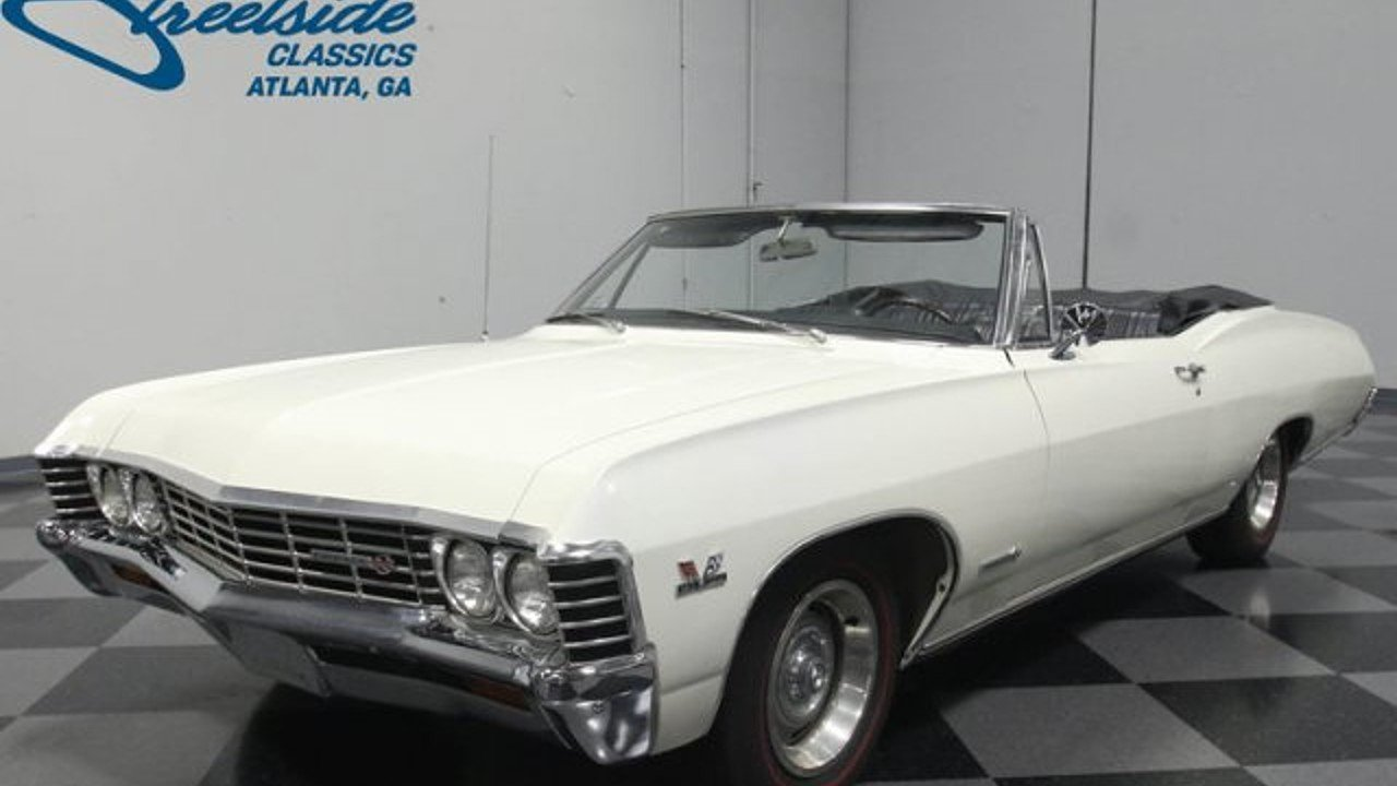 1967 Chevrolet Impala for sale near Lithia Springs, Georgia 30122 ...