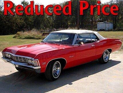 1967 chevrolet impala for sale 100831442
