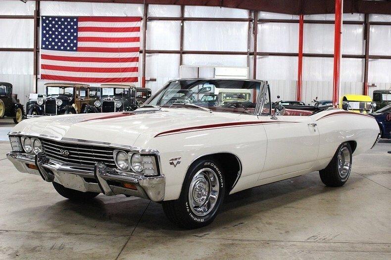 1967 Chevrolet Impala Classics For Sale Classics On