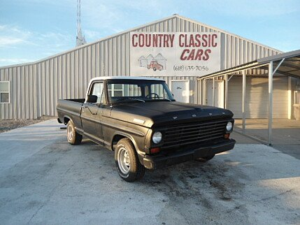 1967 Ford F100 for sale 100758078