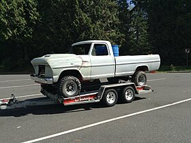 1967 Ford F250 4x4 Regular Cab for sale 101030420