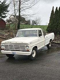 1967 Ford F250 2WD Regular Cab for sale 101044201