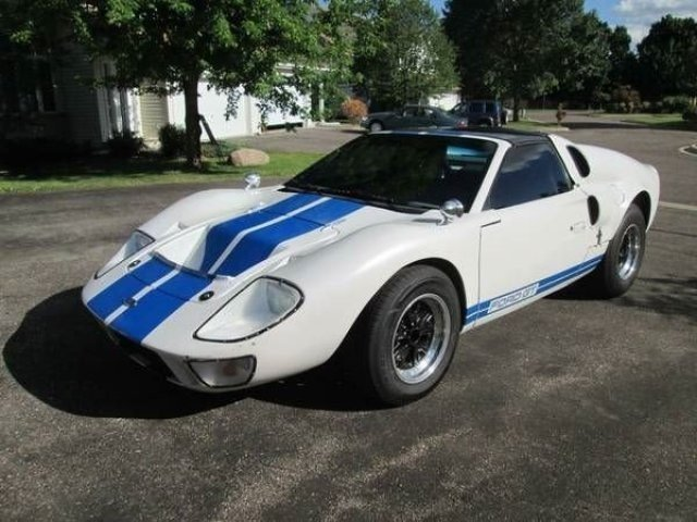 how to build gt40 car