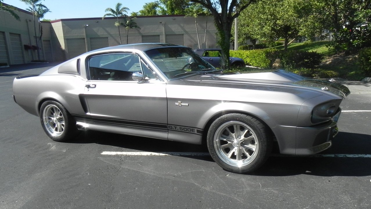 1967 Ford Mustang Shelby Gt500 Coupe For Sale Near Dania