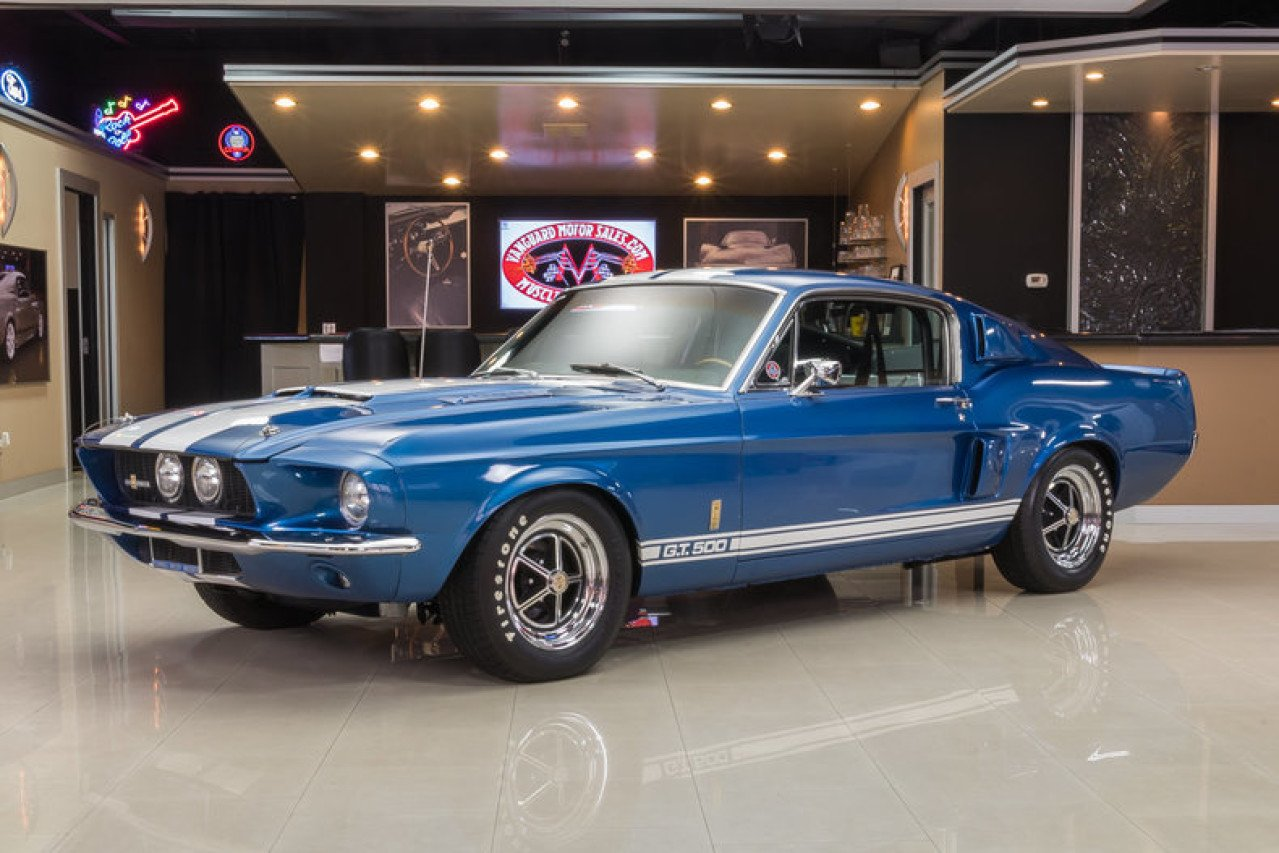 100 Mustang Classic Shelby Gt500cr By Classic
