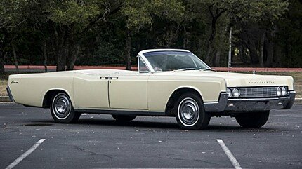 1967 Lincoln Continental for sale 100856001