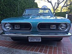 1967 Plymouth Barracuda for sale 100768237