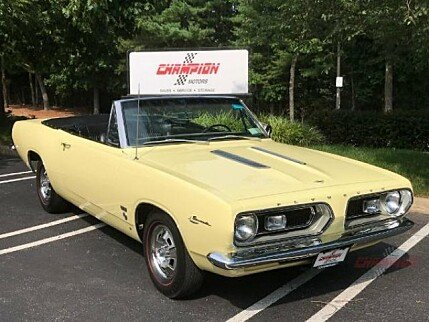 1967 Plymouth Barracuda for sale 101012577