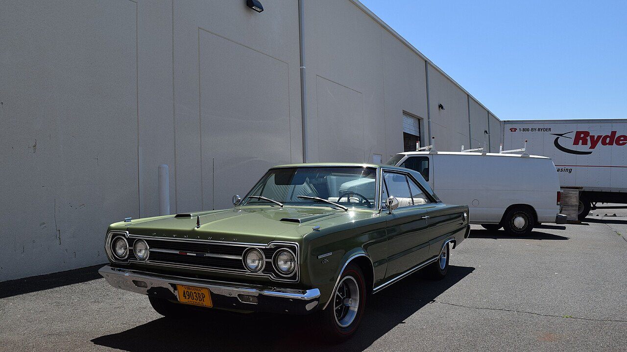 1967 Plymouth GTX for sale 100992930