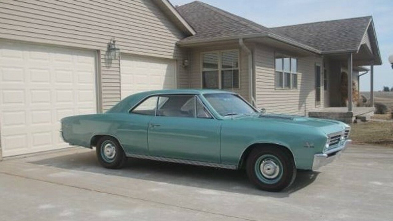 1967 chevrolet Chevelle for sale 100970045