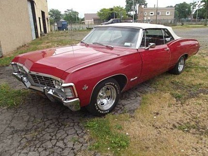 1967 chevrolet Impala for sale 100828535