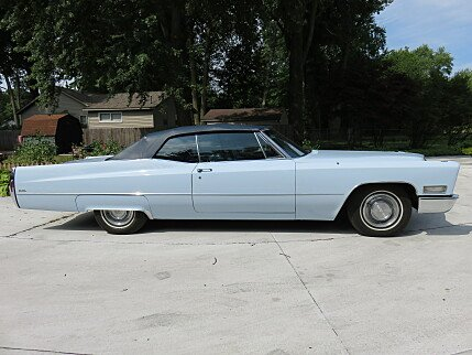 1968 Cadillac De Ville for sale 100815467