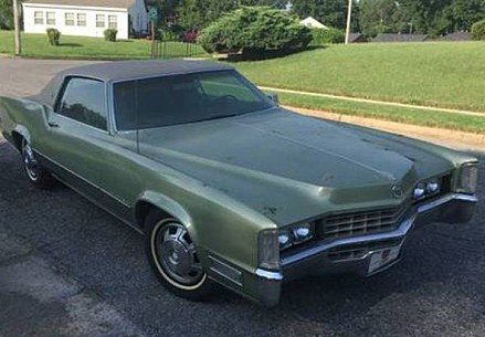 1968 Cadillac Eldorado for sale 100815643