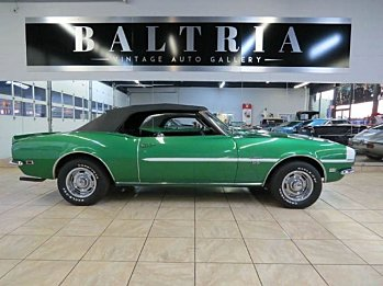 1968 Chevrolet Camaro SS Convertible for sale 100841194