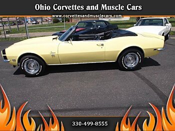 1968 Chevrolet Camaro Convertible for sale 100732500