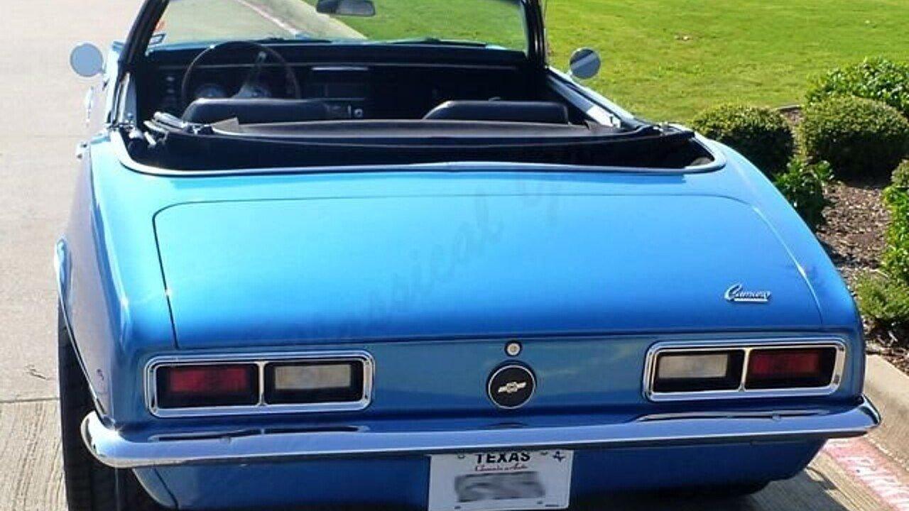 1968 Chevrolet Camaro for sale near Arlington, Texas 76001 ...