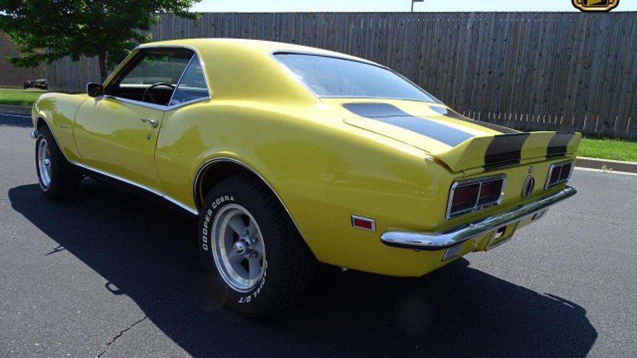 1968 Chevrolet Camaro Rs For Sale Near O Fallon Illinois 62269 100994229