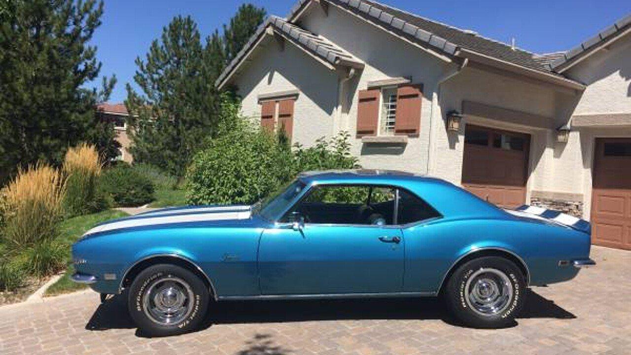 1968 Chevrolet Camaro Z 28 Coupe For Sale Near Sparks Nevada 89436 101019082