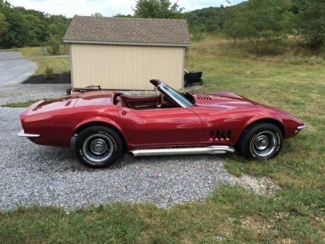 68 corvette value