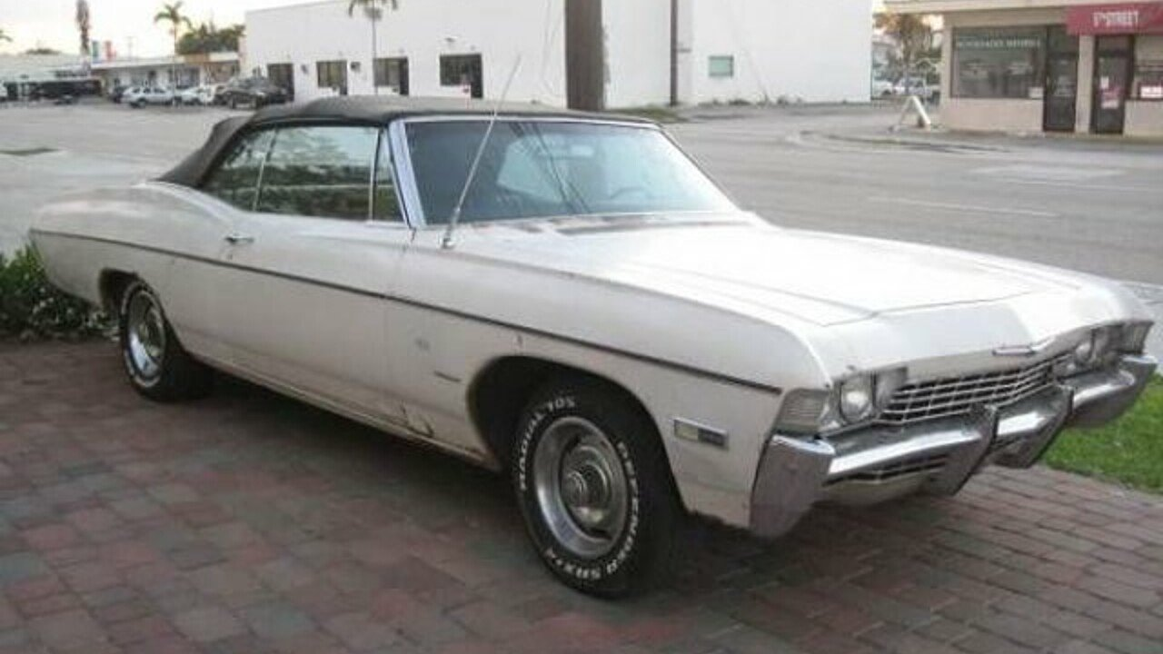 1968 Chevrolet Impala for sale 100854943