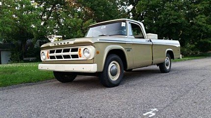 1968 Dodge D/W Truck for sale 100968152