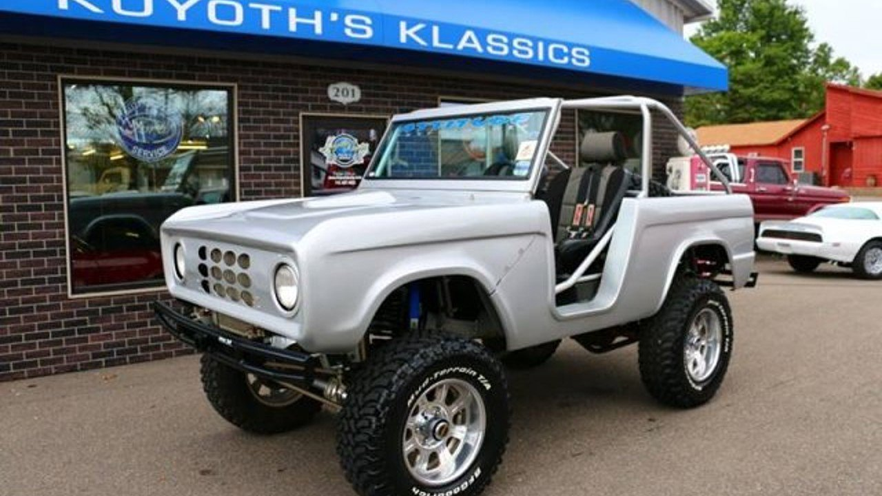 1968 ford bronco for sale near stratford wisconsin 54484. Black Bedroom Furniture Sets. Home Design Ideas