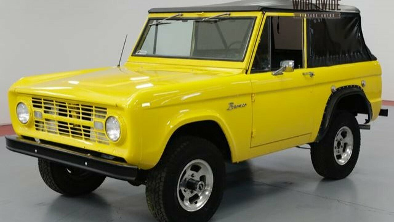 1968 ford bronco for sale 101033762