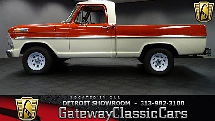 1968 Ford F100 for sale 100773444