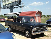 1968 Ford F250 2WD Regular Cab for sale 101028210