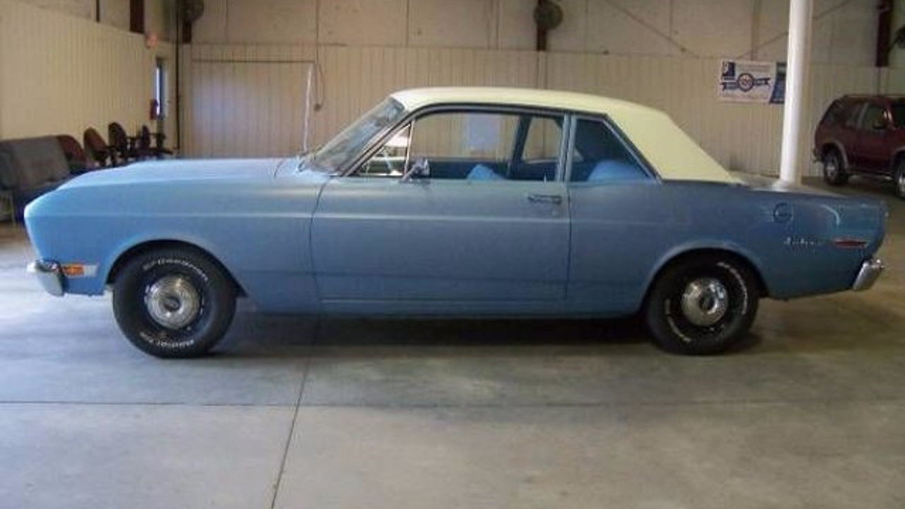 1968 ford falcon for sale near cadillac michigan 49601. Black Bedroom Furniture Sets. Home Design Ideas